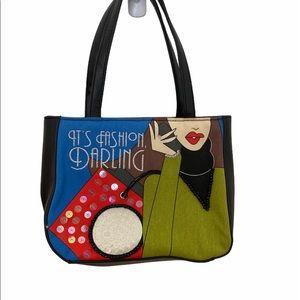 ROLFS It's Fashion Darling Black Mini Handbag